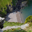 Постер, плакат: The view from Castle Rock near Lynton Devon