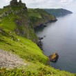 Постер, плакат: Beautiful Devon coastline of the Valley of Rocks near Lynton Devon
