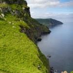 ������, ������: Devon coastline of the Valley of Rocks near Lynton Devon