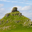 ������, ������: The tourist attracttion of Castle Rock in the Valley of the Rocks near Lynton Devon