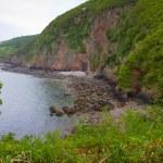 ������, ������: Devon coastline near Lynton and Lynmouth in Devon England