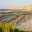 Stock Photo: Kilve beach and coastline in Somerset