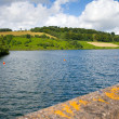 Clatworthy Reservoir in the Brendon Hills Exmoor Somerset - Stock Photo