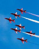 Red Arrows Display team — Stock Photo