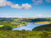 Wimbleball Lake Exmoor Somerset England — Stock Photo
