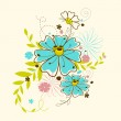 Colorful Flower — Stock Vector #10914292
