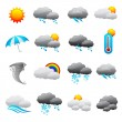 Stock Vector: Weather Forecast Icon