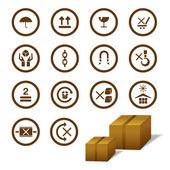 Cargo Symbol — Stock Vector