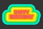 Colorful Birthday — Vetorial Stock
