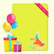 Happy Birthday — Image vectorielle