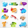 Vector de stock : Promotional Tag Sticker