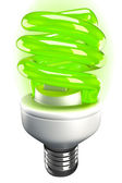 Fluorescent Light Bulb — Stock Photo