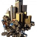 High Tech City — Stock Photo #11506839