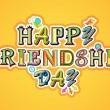 Royalty-Free Stock Vector Image: Happy Friendship Day