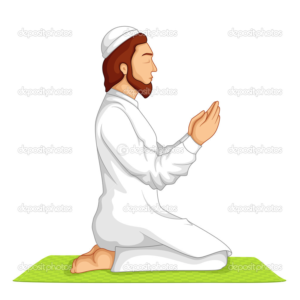 Muslim Praying Drawing | www.imgkid.com - The Image Kid ...