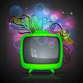 Телевидение — Cтоковый вектор
