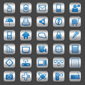Computer Icon — Vetorial Stock