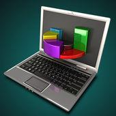 Online Profit — Stock Photo