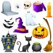 Halloween Icon — Stock Vector