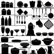 Kitchen Collection — Stock Vector