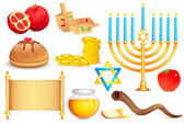 Objeto sagrado judío — Vector de stock