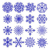 Snowflake Design — Stock Vector