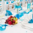 Wedding table setting — Stock Photo #11419635