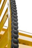 Máquina del acoplamiento de cadena — Foto de Stock
