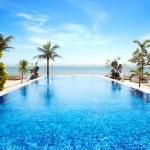 Tropical swimming pool — Stock Photo #11017068