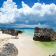 Exotic beach in Boracay - Stock Photo