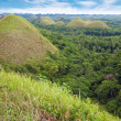 Chocolate Hills in Bohol — Stock Photo