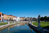 View from the canal in Padova — Foto Stock