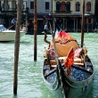 Gondola on water — Stock Photo