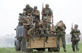 German uniform and ammo of ww2 — Stock Photo