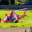 Emergency Helicopter rescue — Stock Photo