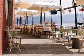 Waterfront Restaurant — Stock Photo