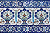 Tiles in Topkapi Palace — Stock Photo