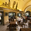 Sark Cafe in Grand Bazaar, Istanbul, Turkey — Stock Photo