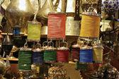 Lanterne appese — Foto Stock