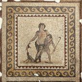 The Drunken Dionysus Mosaic — Stock Photo