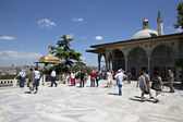 Upper terrace and Baghdad Kiosk, Topkapi Palace, Istanbul, Turke — Stock Photo