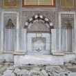 Detail view from III. Ahmet Fountain, Istanbul — Stock Photo