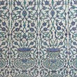 Tiled wall in Harem of Topkapi Palace — Stock Photo #11763504