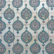 Tiled wall in Harem of Topkapi Palace — Stock Photo