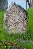 Pedra rúnica — Fotografia Stock