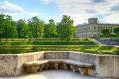 Parque en gatchina, rusia — Foto de Stock