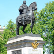 Monument to Peter I in Petersburg, Russia — Stock Photo