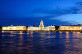 Petersburg, Russia in a white night. — Stock Photo