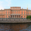 Panorama of Mikhailovsky Castle - Stock Photo