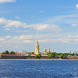 The Peter and Paul Fortress — Stock Photo